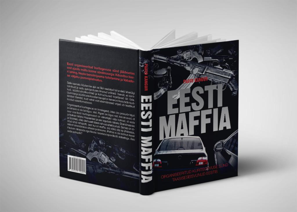 Raamatukujundus - Eesti Maffia - 2